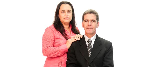 Joel Alves dos Santos e Alcineia Rosario