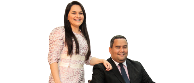 Mário Sergio e Thaysa Araújo