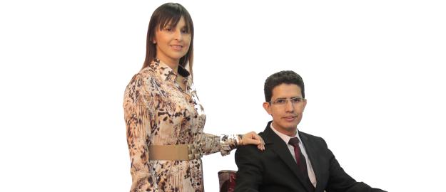 Medsi Mendes dos Santos e Adriana dos Santos