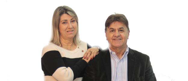 Olivio Maurino Mafra e Ana Maria Mafra