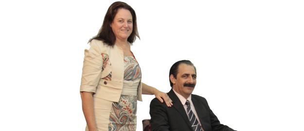 Paulino Guilherme e Nilza A. Feltz Guilherme