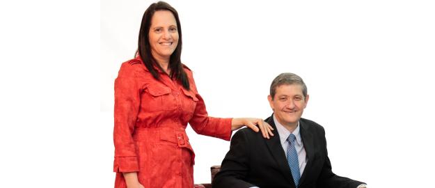 Sebastião João Feltz e Rosangela de Almeida Feltz