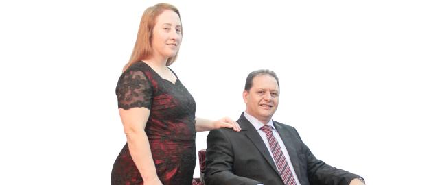 Sérgio Melfior e Maria Helena Rodrigues Melfior